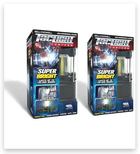 Bell Howell 2 Pack Taclight Cob Led Camping Lantern