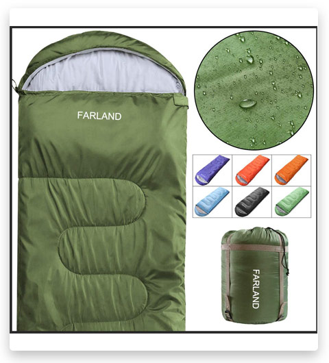 FARLAND Sleeping Bags 20℉ for Adults Teens Kids