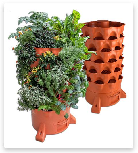 Garden Tower 2: 50-Plant Composting Container Garden