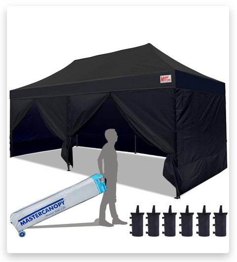 MASTERCANOPY Pop Up Commercial Tent