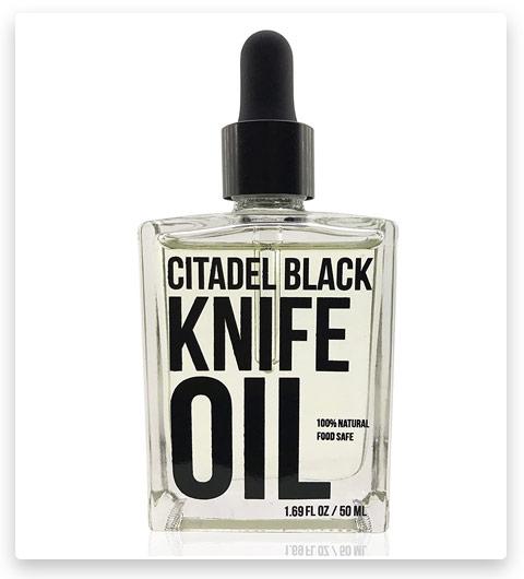 Citadel Black 100% Natural Food Safe Knife Oil