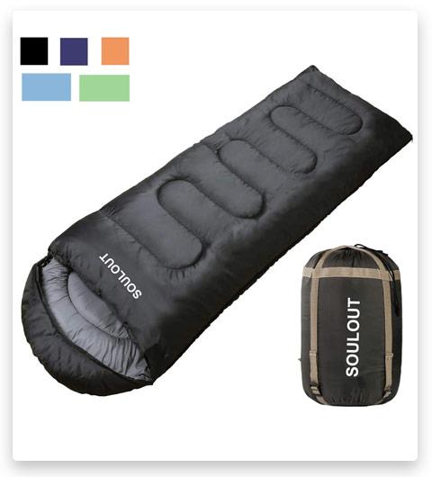 Sleeping Bag - 4 Seasons Warm Cold Weather Lightweight