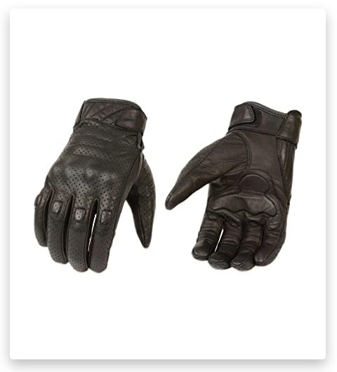 Ted&Jack Leather Tactical Gloves