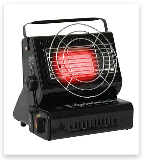 Heilsa Portable Camp Heater, Dual-use Heater for Warm