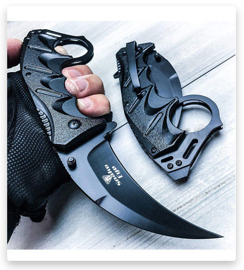 Snake Eye Tactical Everyday Carry Karambit Style