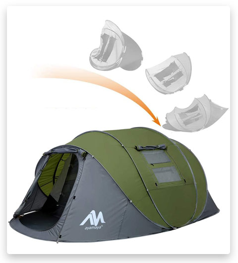 Ayamaya Pop Up Tent for 4 to 6 people