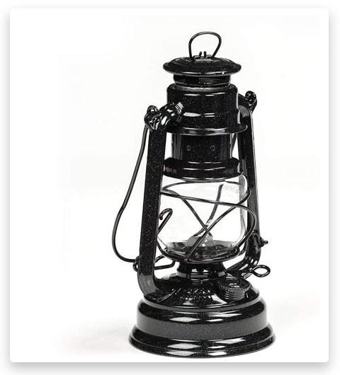 Feuerhand Galvanized Lantern Shimmer Black