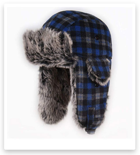 HOMFUL Unisex Trapper Hat