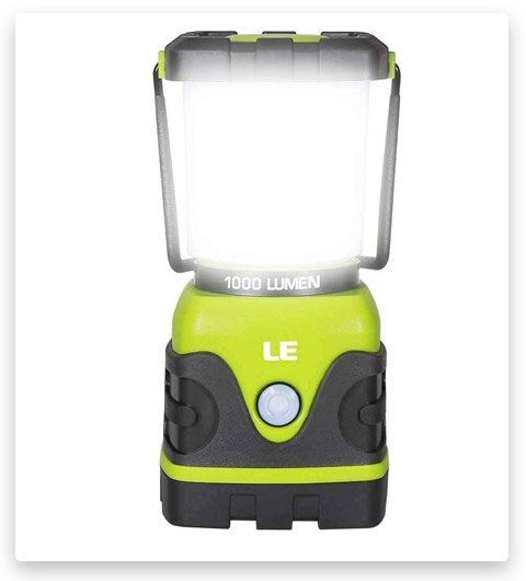 LE LED Camping Lantern, Battery Powered LED with 1000LM