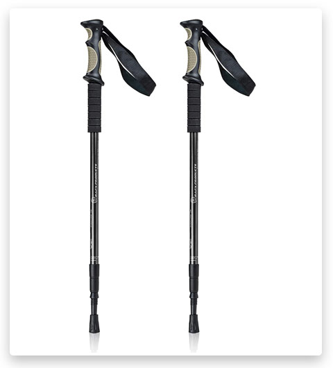 Bafx Products 1 Pair (2 Poles) Adjustable Anti Shock Strong