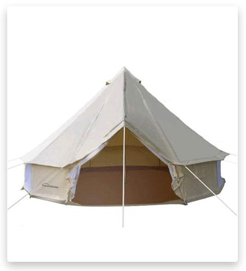 DANCHEL Family Cotton Bell Tent
