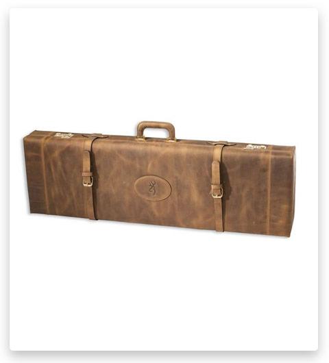 Browning Crazy Horse Leather Shotgun Case