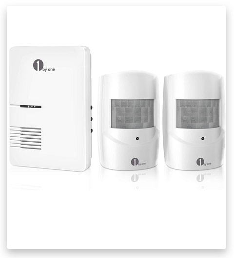 Driveway Alarm, 1byone Motion Sensor 1000ft Operating Range