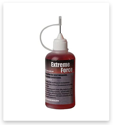 Gun Oil, Firearms & Weapons Oil (Extreme Force Weapon's Lube)