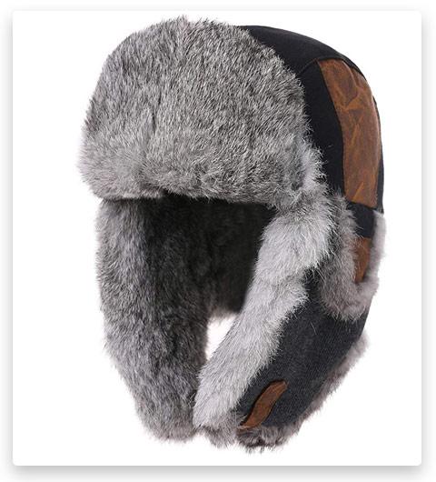 SIGGI Wool Blend Trapper Hat
