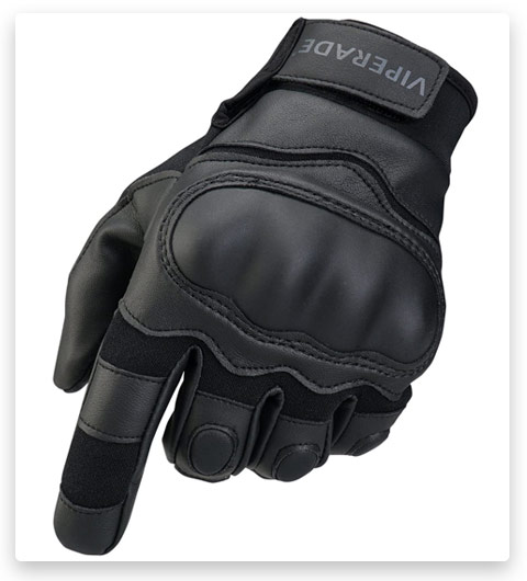 Viperade Men's Tactical Gloves with Rubber Hard Knuckle