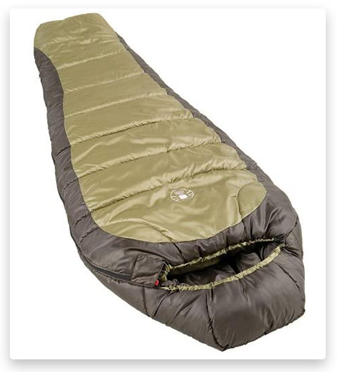 8 Coleman 0°F Mummy Sleeping Bag for Big and Tall Adults