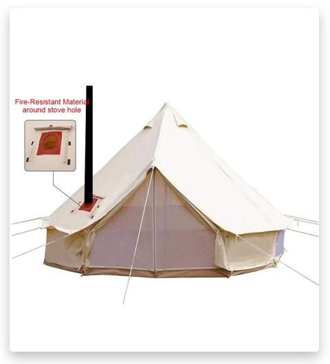 PlayDo Cotton Canvas Bell Tent