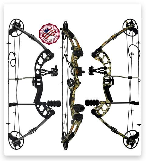 PREDATOR ARCHERY Raptor Compound Hunting Bow Kit