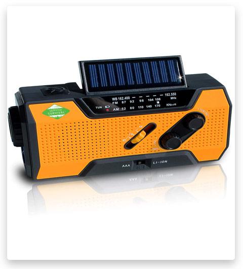 Service Survival Emergency Radio & NOAA Weather Radio