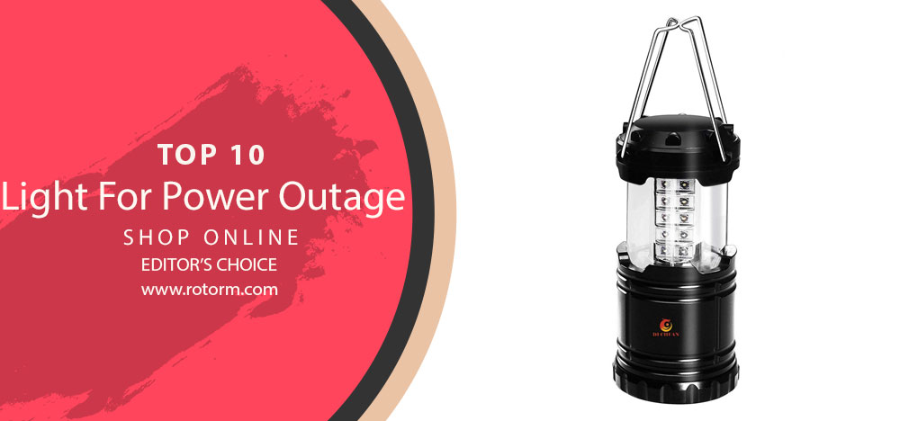 Best Light For Power Outage - Editor's Choice