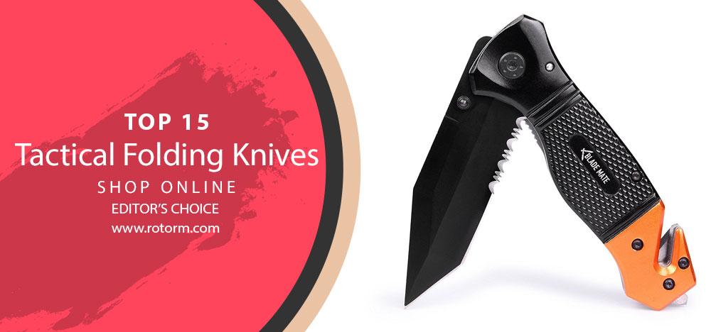 TOP-10 Tactical Folding Knife - Editors Choice