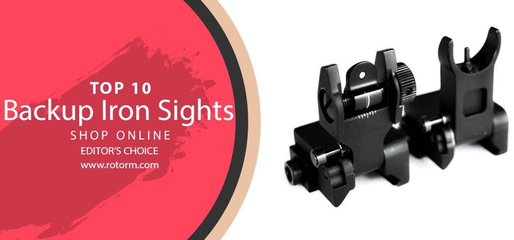 Best Backup Iron Sights - Editors Choice