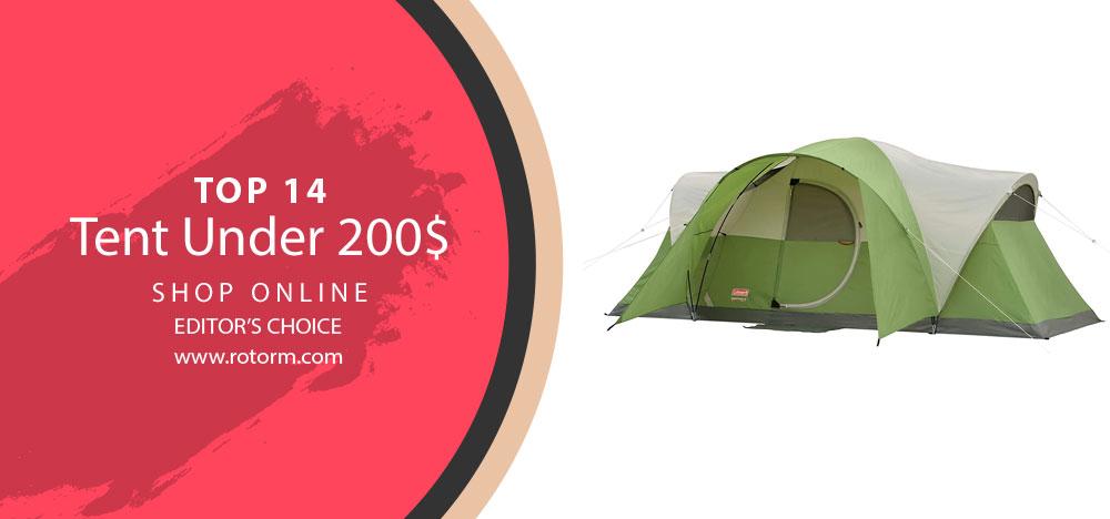 TOP-14 Tents Under 200$