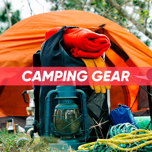 Camping, Backpacking, Hiking Equipment