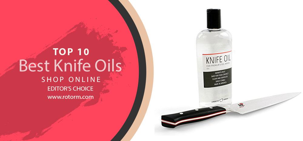 Best Knife Oils | Editor's Choice
