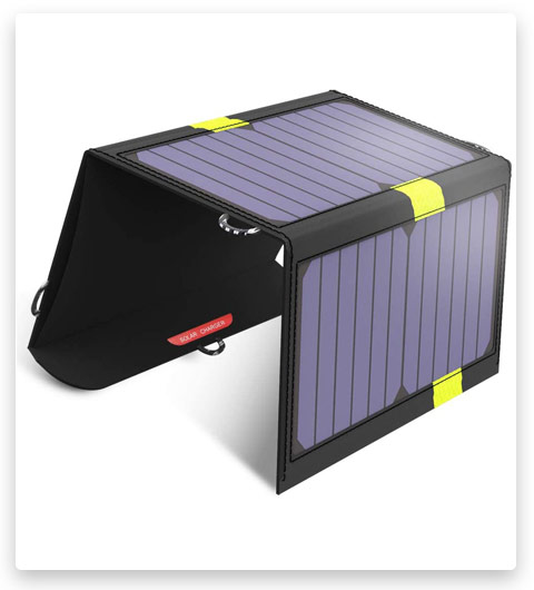 Portable Solar Chargers X-DRAGON 20W SunPower Solar Panel Waterproof Foldable Camping Battery Charger