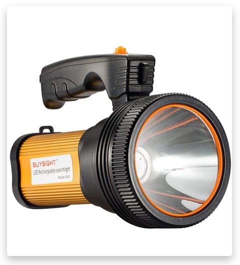 BUYSIGHT Rechargeable Handheld Flashlight