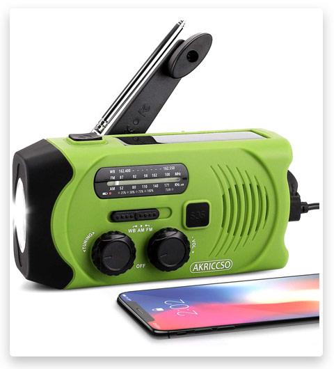 Emergency Solar Hand Crank Portable Radio