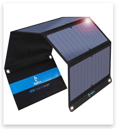 BigBlue 3 USB Ports 28W Solar Charger(5V/4.8A Max)