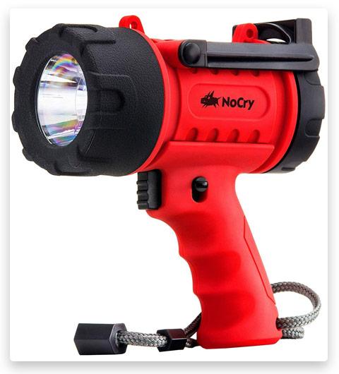 NoCry 18W Waterproof Rechargeable Flashlight (Spotlight)