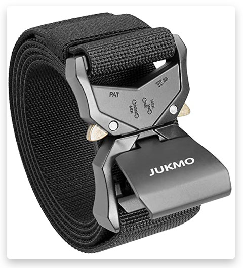 JUKMO Tactical Belt, Military Style Rigger