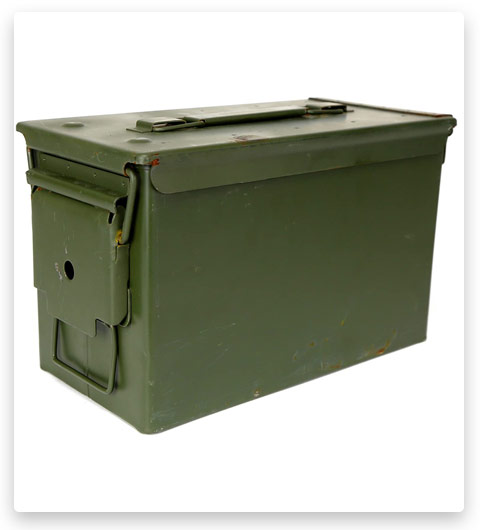 Military Outdoor Clothing Metal 50 Caliber Ammo Box