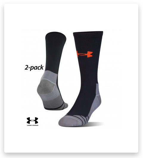 2 Pairs Under Armour Hitch Lite 3.0 Boot Socks
