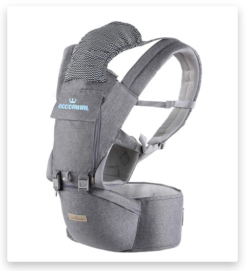 Baby Carrier, Eccomum Multifunction Baby Carrier Hip Seat 3-36 Month Baby