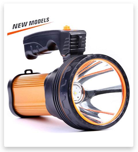 CSNDICE Rechargeable Handheld Flashlight