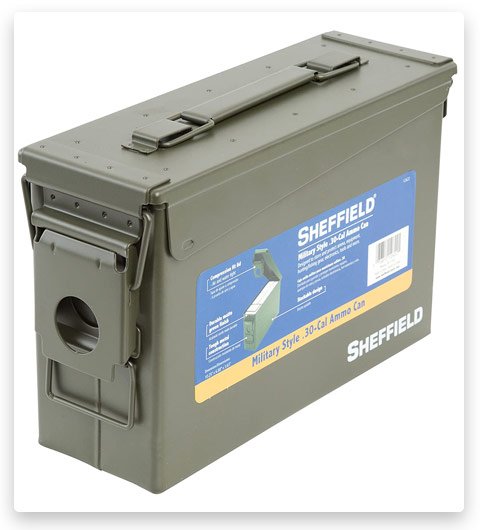 Sheffield 30-Caliber Military Style Ammo Can