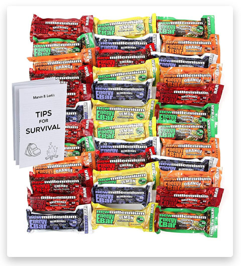 S.O.S. Food Labs Millennium Assorted Energy Bars (6 Count)