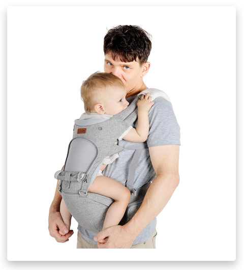 Lictin Baby Carrier 6-in-1 Ergonomic Backpack Carry