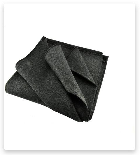 """SE Grey Warm 2-lb. Blanket (51"""" x 80"""") with 50-70% Wool - BI51802GR"""