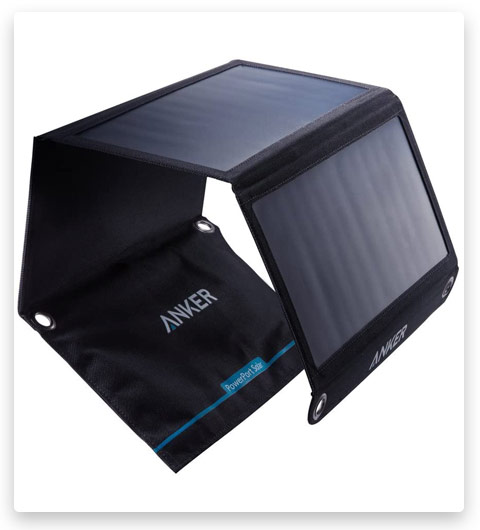Solar Panel, Anker 21W 2-Port USB Portable Solar Charger with Foldable Panel