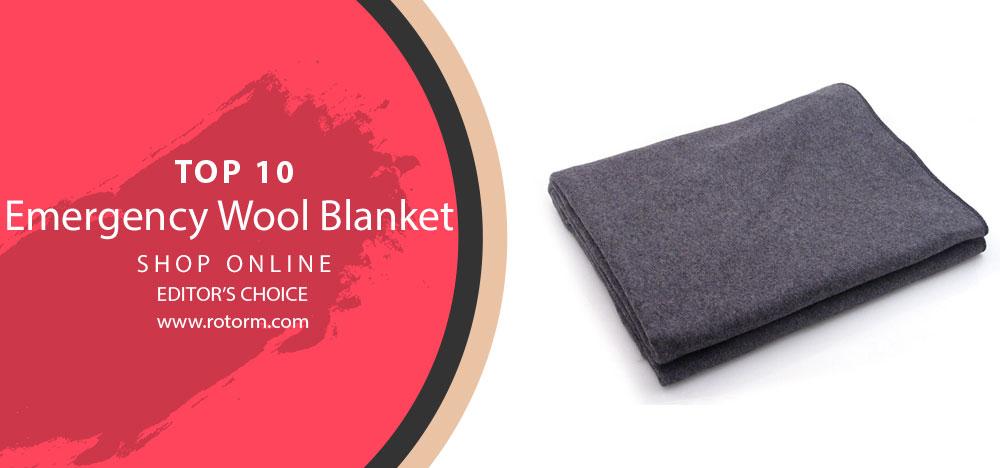 Best Emergency Wool Blanket - Editor's Choice & Top Picks