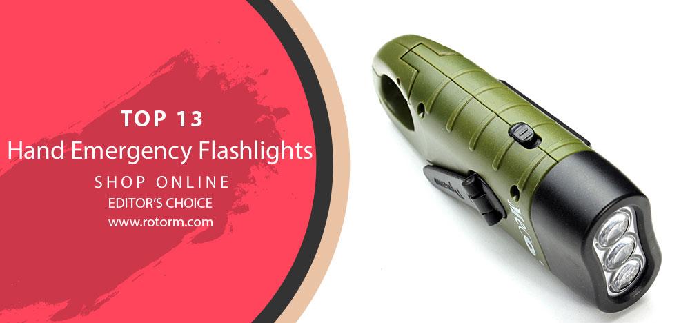 Best Hand Emergency Flashlights - Editor's Choice & Top Picks