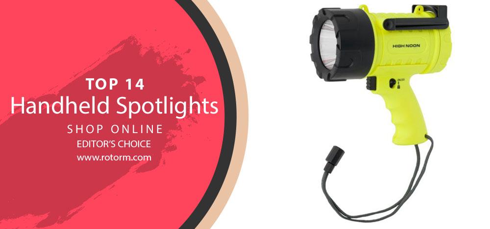 Best Handheld Spotlights - Editor's Choice