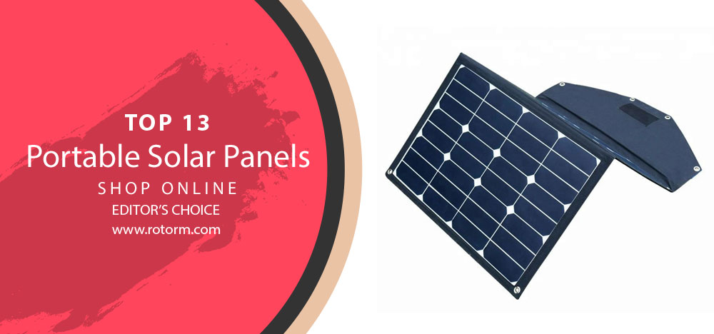 Best Portable Solar Panels - Editor's Choice & Top Picks