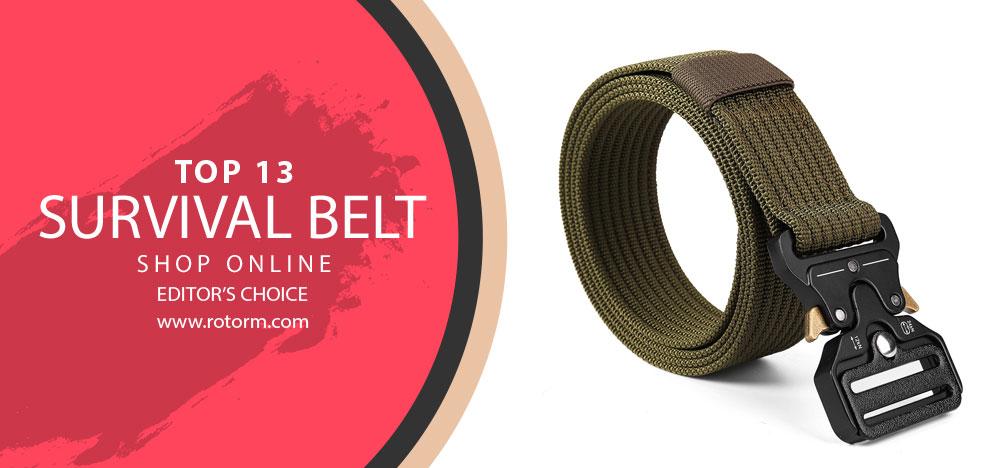 Best Survival Belt - Editor's Choice